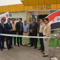Opening Al Sard SubDealer showroom at HANWHA Basmaya project2